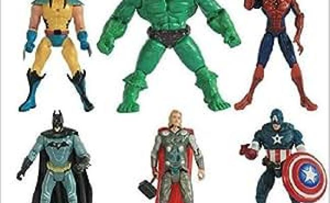 Buy 1 Pcs Boy Gift The Avengers Action Figures Hulk Batman