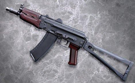 【BIO BB弾1500発付】 KSC AKS74U クリンコフ ロシア ソビエト サブマシンガン 【18歳以上用】