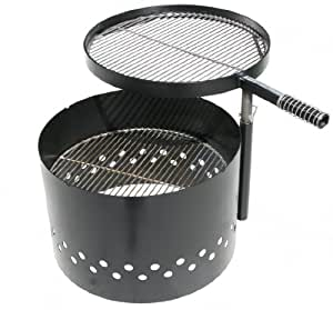 Amazoncom Volcano Fire Pit And Grill Patio Lawn Garden