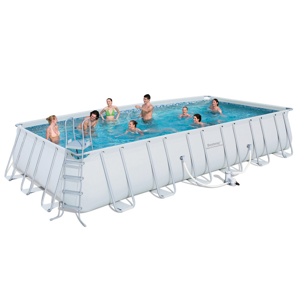 Abdeckplane Pool Bestway Bestway 56229gs Swimming Pool Komplettset 732 X 366 Cm
