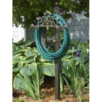 Amazon.com : Decorative Hose Holder Station : Garden Hose ...