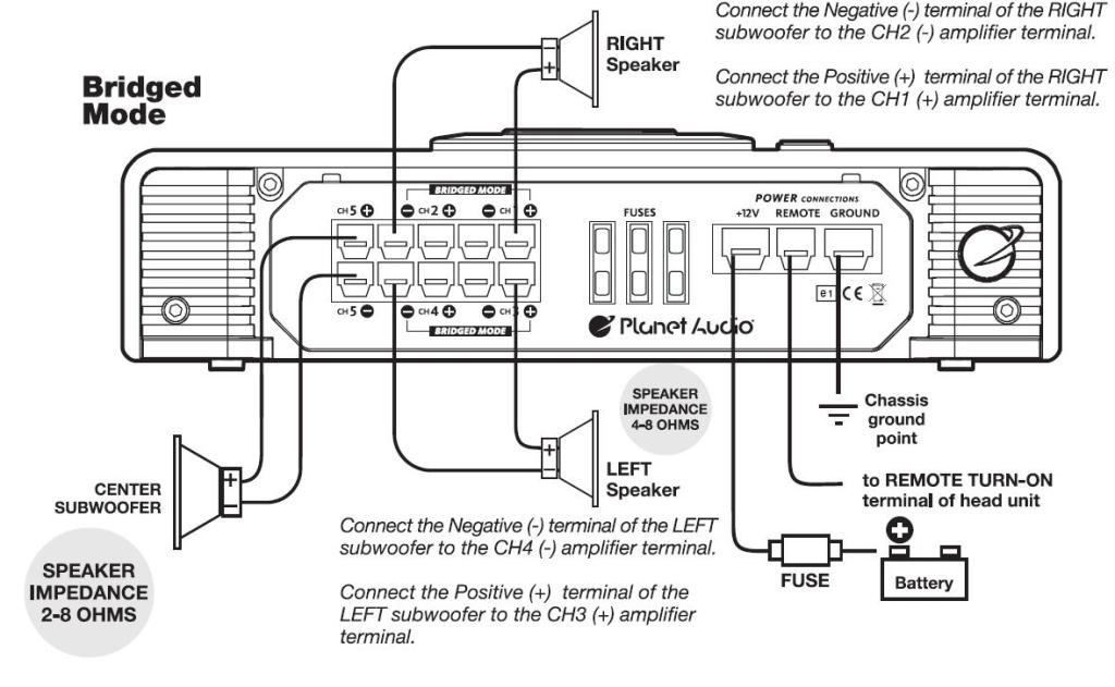 planet audio amp wiring diagram
