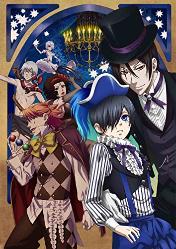 【Amazon.co.jp限定】黒執事 Book of Circus V(クリアブックマーカー付) (完全生産限定版) [DVD]