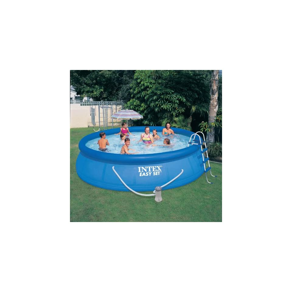 Pool Komplettset Amazon Intex 12 54916gs Easy Set Pool 457 X 122 Cm TÜv Gs