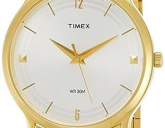timex classics analog watch