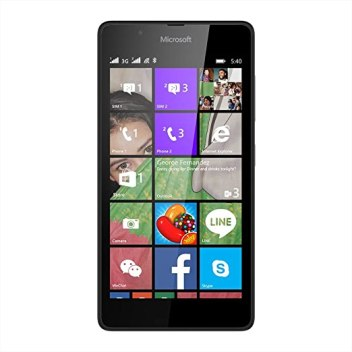 Microsoft Lumia 540 (Black, 8GB)