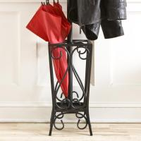 Amazon.com - SEI Black Scrolled Metal Coat Rack and ...