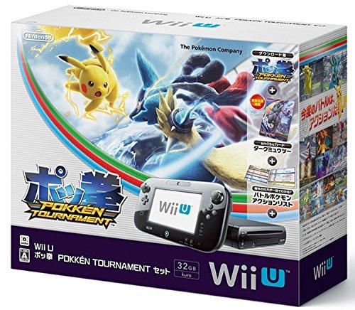 Wii U ポッ拳 POKKÉN TOURNAMENT セット (【初回限定特典】amiiboカード ダークミュウツー 同梱) 【Amazon.co.jp限定】ポケモンキャラクター アクリルキーホルダー 付