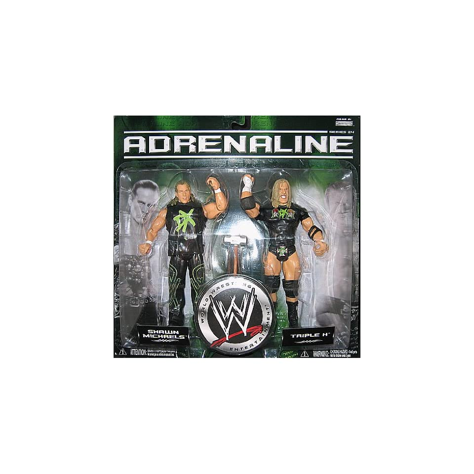 Figuren Shop 24 Wwe Wrestling Adrenaline 24 2 Figuren Shawn Michaels Triple H On