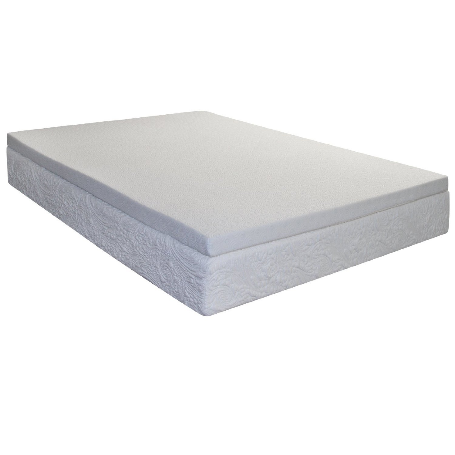 Spring And Memory Foam Mattress Spring Coil Mattress Topper Queen Size With Cool Gel