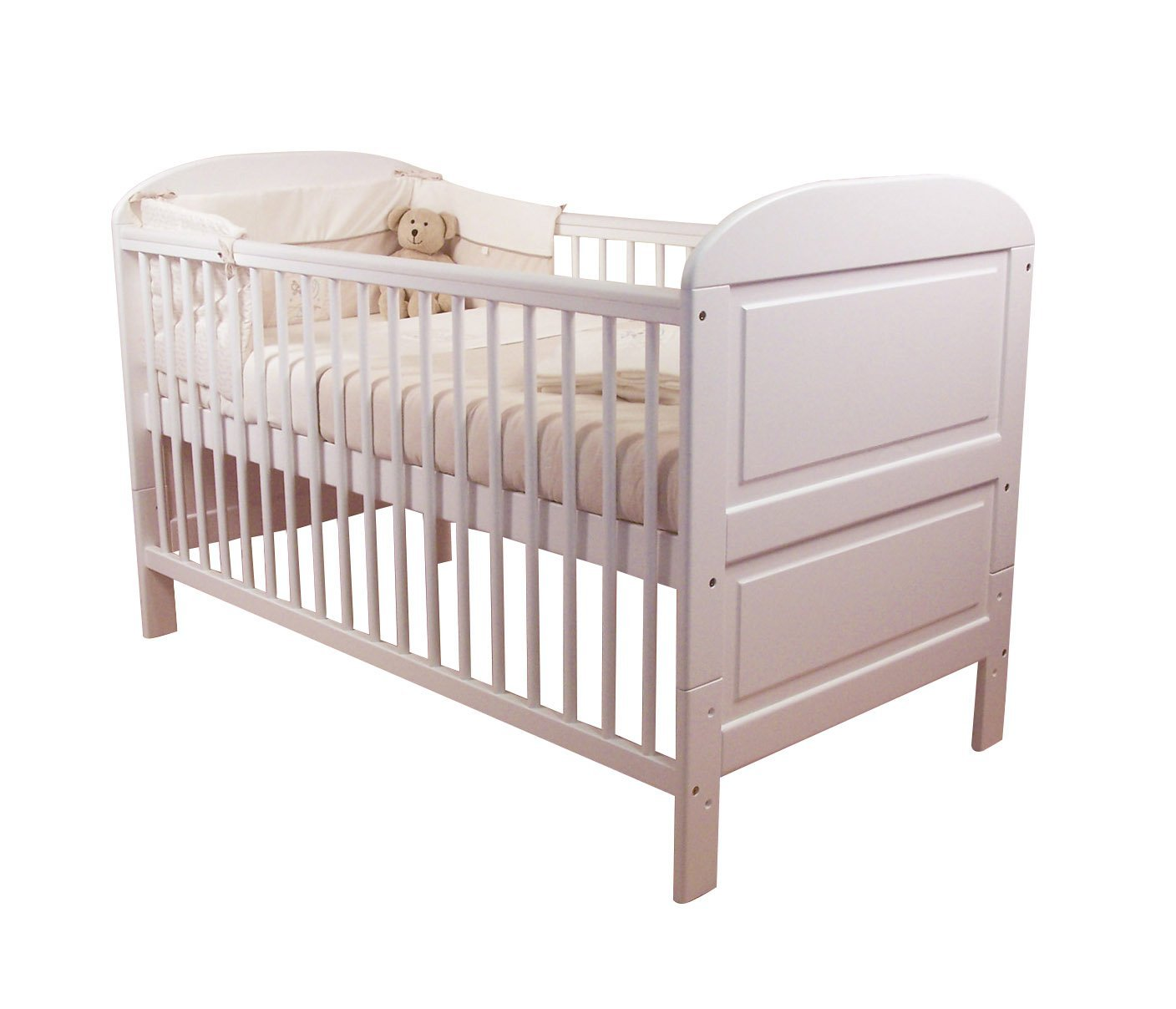 Cot Baby East Coast Angelina Cot Bed Wooden Baby Bed Furniture