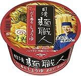 日清 麺職人 醤油 90g×12個