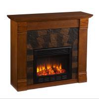 Amazon.com - SEI Elkmont Salem Electric Fireplace, Antique ...