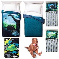 Universal Jurassic World 6 Piece Bed in a Bag Twin Bedding ...