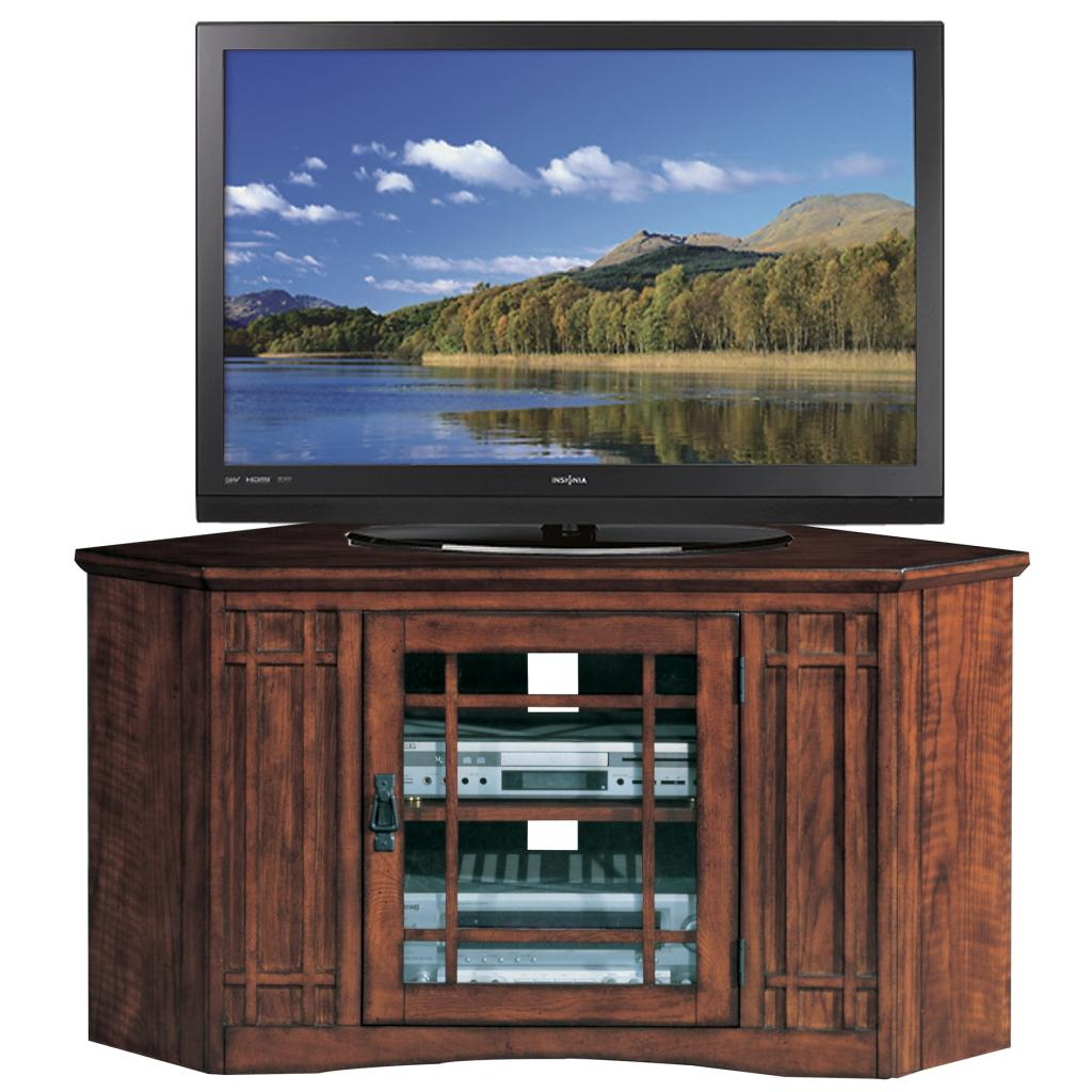 Tv Stand Amazon Leick Riley Holliday Mission Tall Tv Stand
