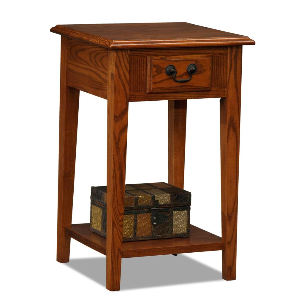 Finish Tables Amazon Leick Chair Side End Table Medium Oak Finish