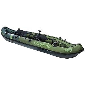 coleman colorado fishing kayak review