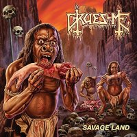 Gruesome-Savage Land-CD-FLAC-2015-FORSAKEN