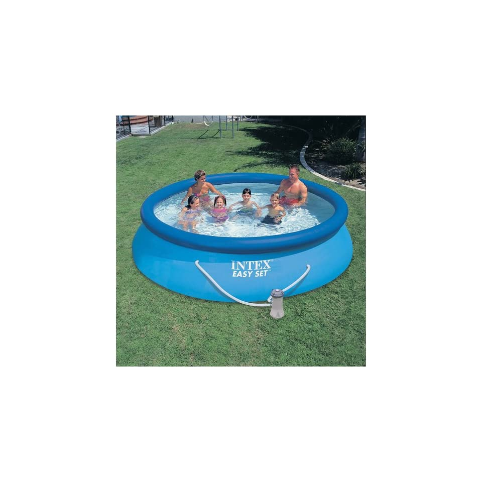 Abdeckplane Pool 366 Cm Intex Easy Set Pool With Gfci 12 X 30 Toys On Popscreen