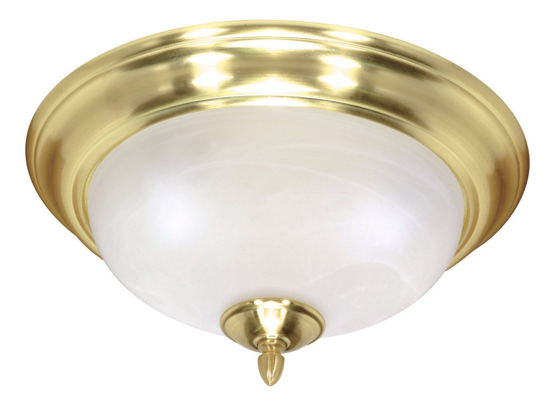 Camino Solare Velux Nuvo Lighting 60478 Satin Brass Sateen Traditional Classic Two