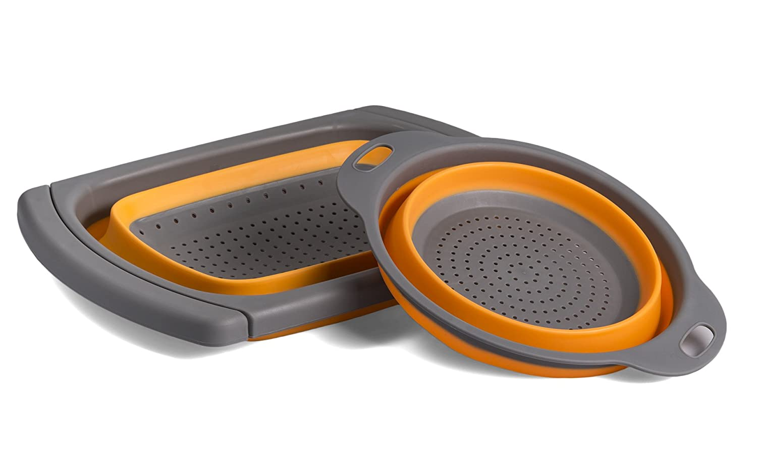 Kitchen Maestro Collapsible Over The Sink Silicone
