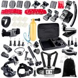 BAXIA-TECHNOLOGY-Accessories-Kit-for-GoPro-HERO-4-3-3-2-1-Cameras-Black-Silver