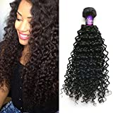 """Mornice Hair 4 Bundles 8A Unprocessed Brazilian Remy Virgin Hair Weave Kinky Curly Human Hair Extensions Natural Color 400G (16""""16""""18""""18"""")"""