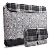 Inateck The New Macbook 11-11.6インチ超薄型スリーブケース 12インチウルトラブック/ネットブック用シンプルでおしゃれケース 小物収納ポケット付
