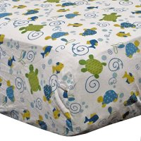 Turtle Reef 9 Piece Bedding Set with Bumper by Cocalo