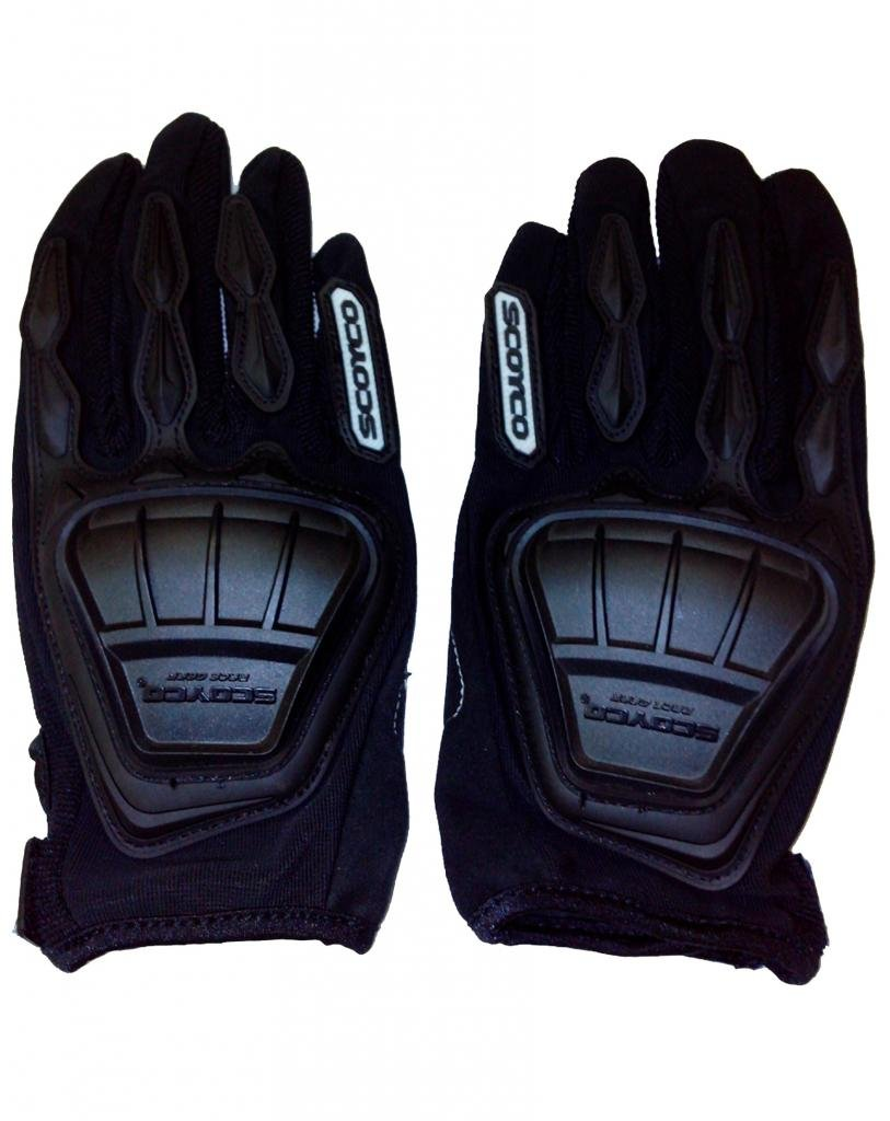 Scoyco mc08 composite fabric plastic motorcycle riding full finger gloves for biking and racing black x large amazon in car motorbike