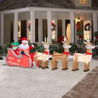 Outdoor Sleigh Decorations to Celebrate the Season : Funk ...