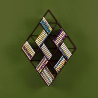 Amazon.com - SEI Black Steel Wall-Mount CD Rack - Audio ...
