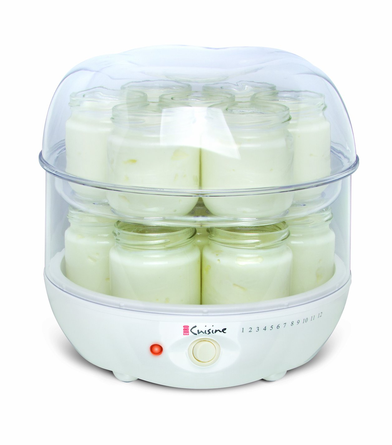 Euro Cuisine Euro Cuisine Gy4 Top Tier Of Yogurt Maker New Free