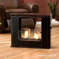 Amazon.com - SEI Portable Indoor/Outdoor Fireplace - Gel ...