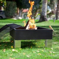 Fire Sense Square Fire Pit | Best Prices