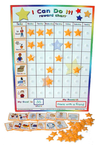 5 Top Rated Potty Training Reward Charts for Boys  Girls Sticker