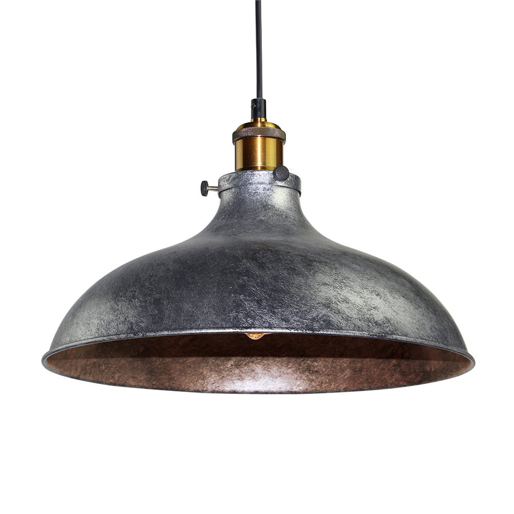 Industrial Hanging Lights Lnc Vintage Pendant Lights, Industrial 1-light Adjustable