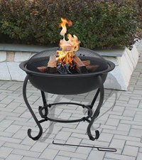 Table & Firepit - Large Fire Bowl OGD027 at Garden ...