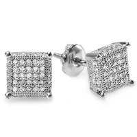 Black And White Diamond Earrings For Men ImagesJust