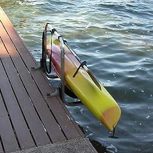 Amazoncom Dockside Bolt On Dock Mounted Kayak Rack