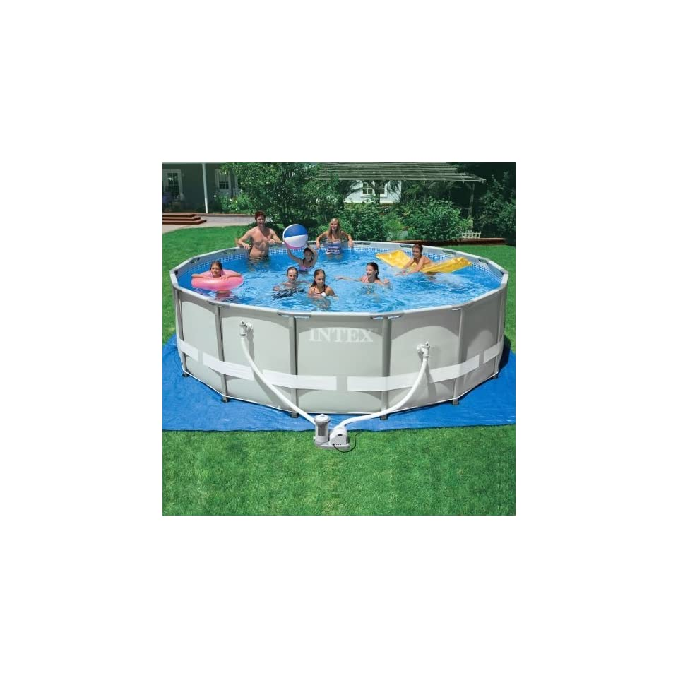Pool Komplettset Amazon Intex Ultra Frame Round Pool Set Discontinued By