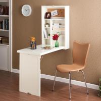 Amazon.com - SEI Black Fold-Out Convertible Desk - Home ...