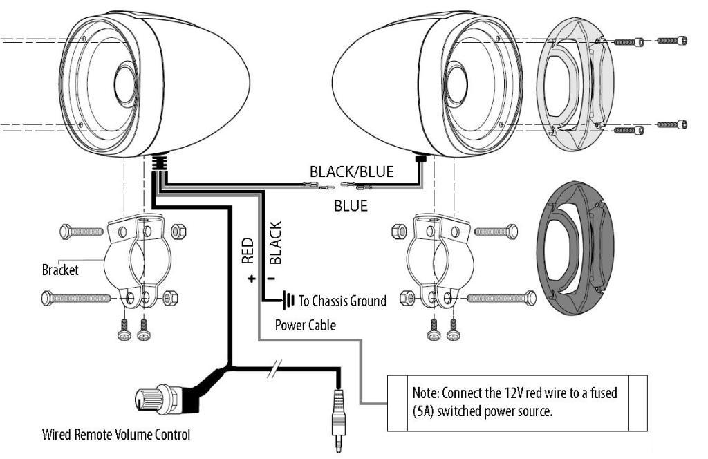 boss audio wiring kit for