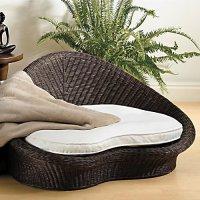 Gaiam Rattan Meditation Chair - Espresso finish | Shop ...