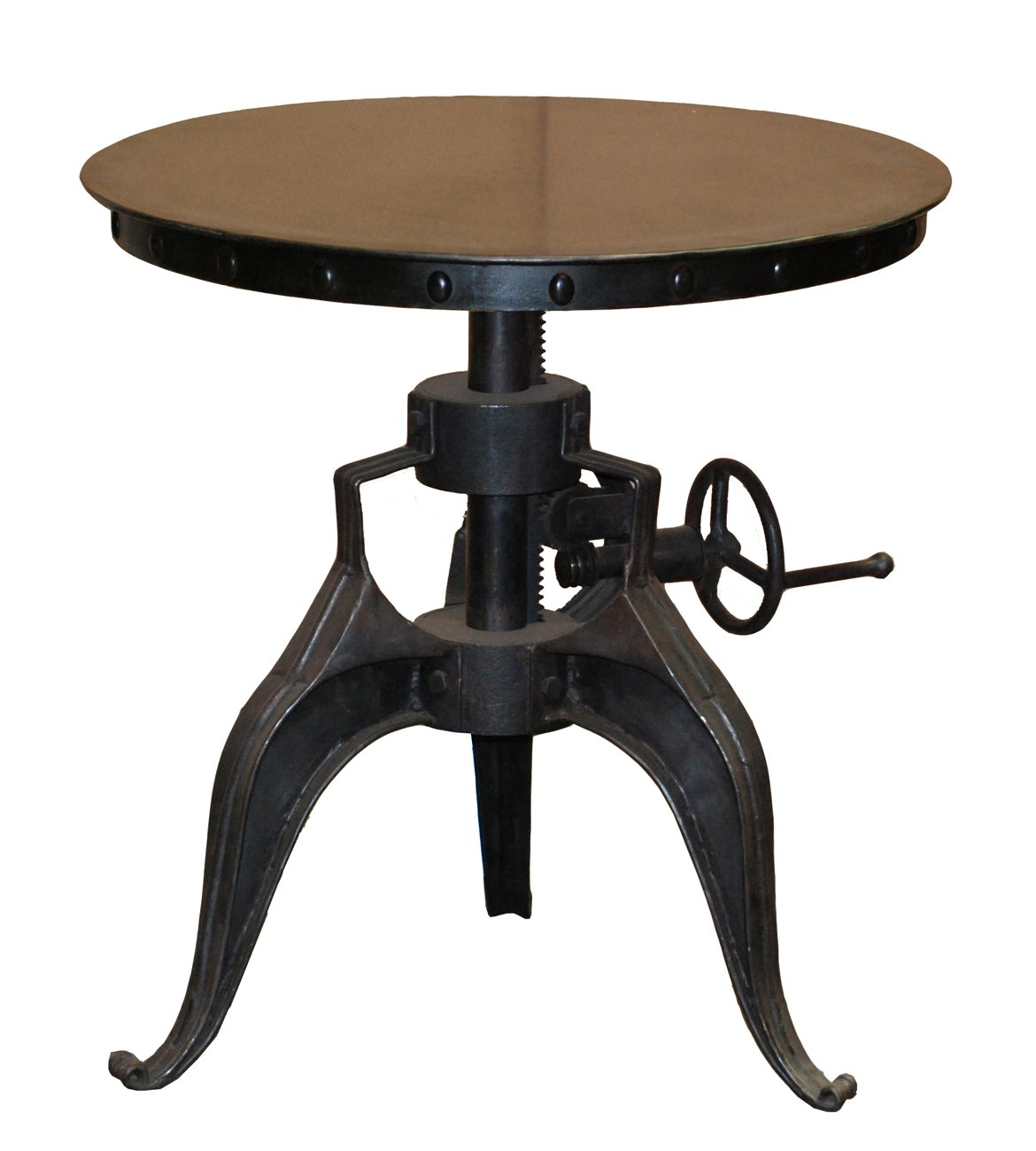 Industrial Look End Tables Reclaimed Wooden Console Table On Castors Uk Archives