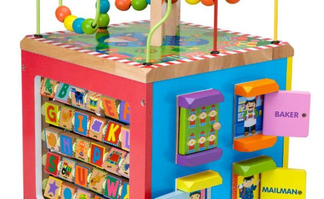 New Alex Toys Alex Jr My Busy Town Baby Wooden