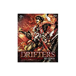 【Amazon.co.jp限定】DRIFTERS Blu-ray BOX (特装限定生産)(特典:「特製ドラマCD」&「描き下ろしキャラファイン[豊久×信長]」&漂流者特製イラストカードセット付き)