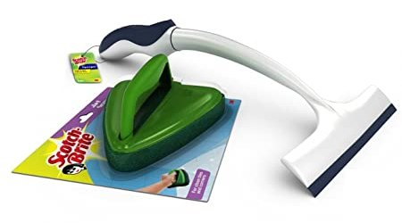 Scotch-Brite Jet Scrubber and Kitchen Squeegee Combo