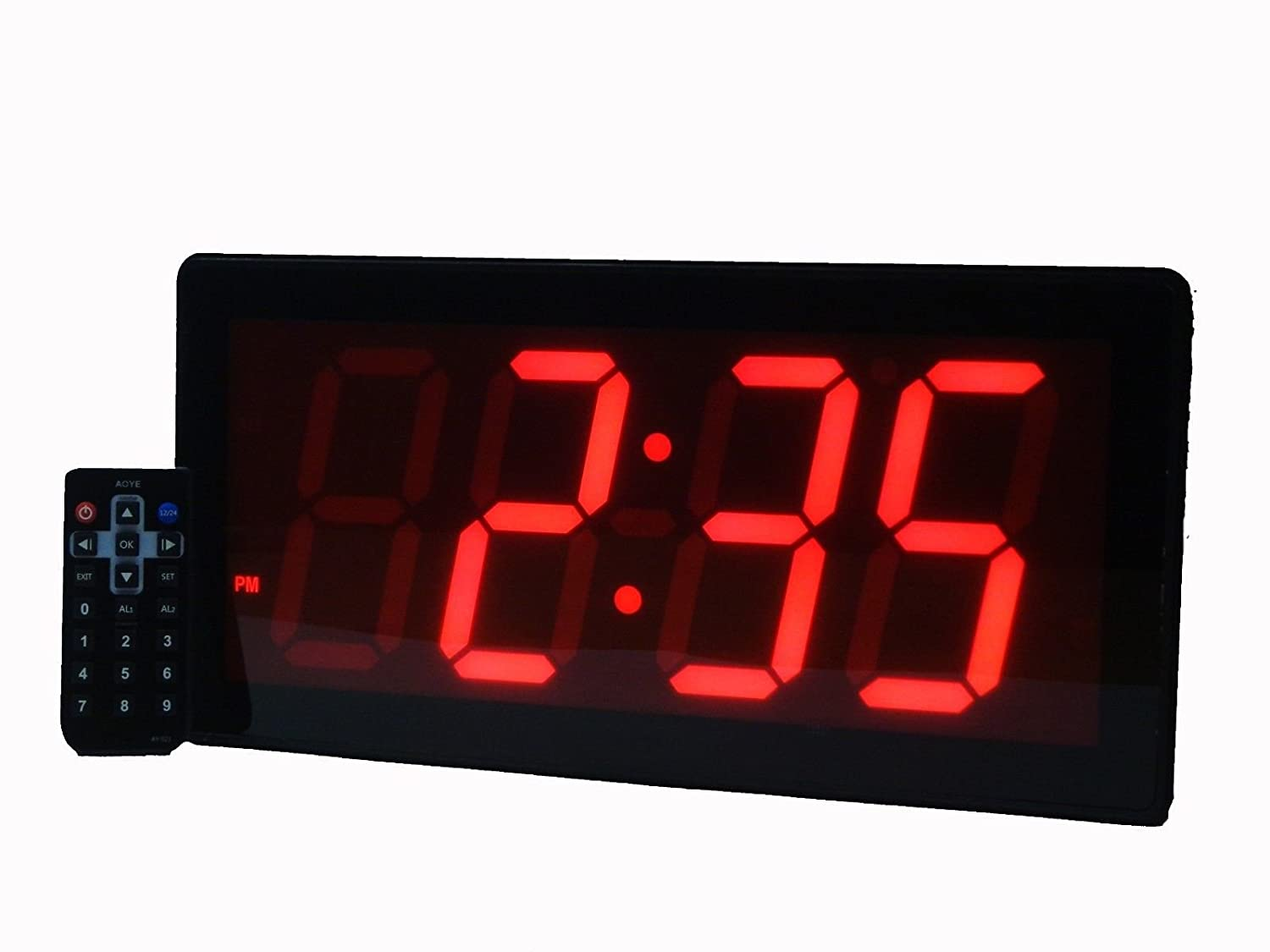 Giant Digital Wall Clock The Gallery For Gt Led Digital Wall Clock