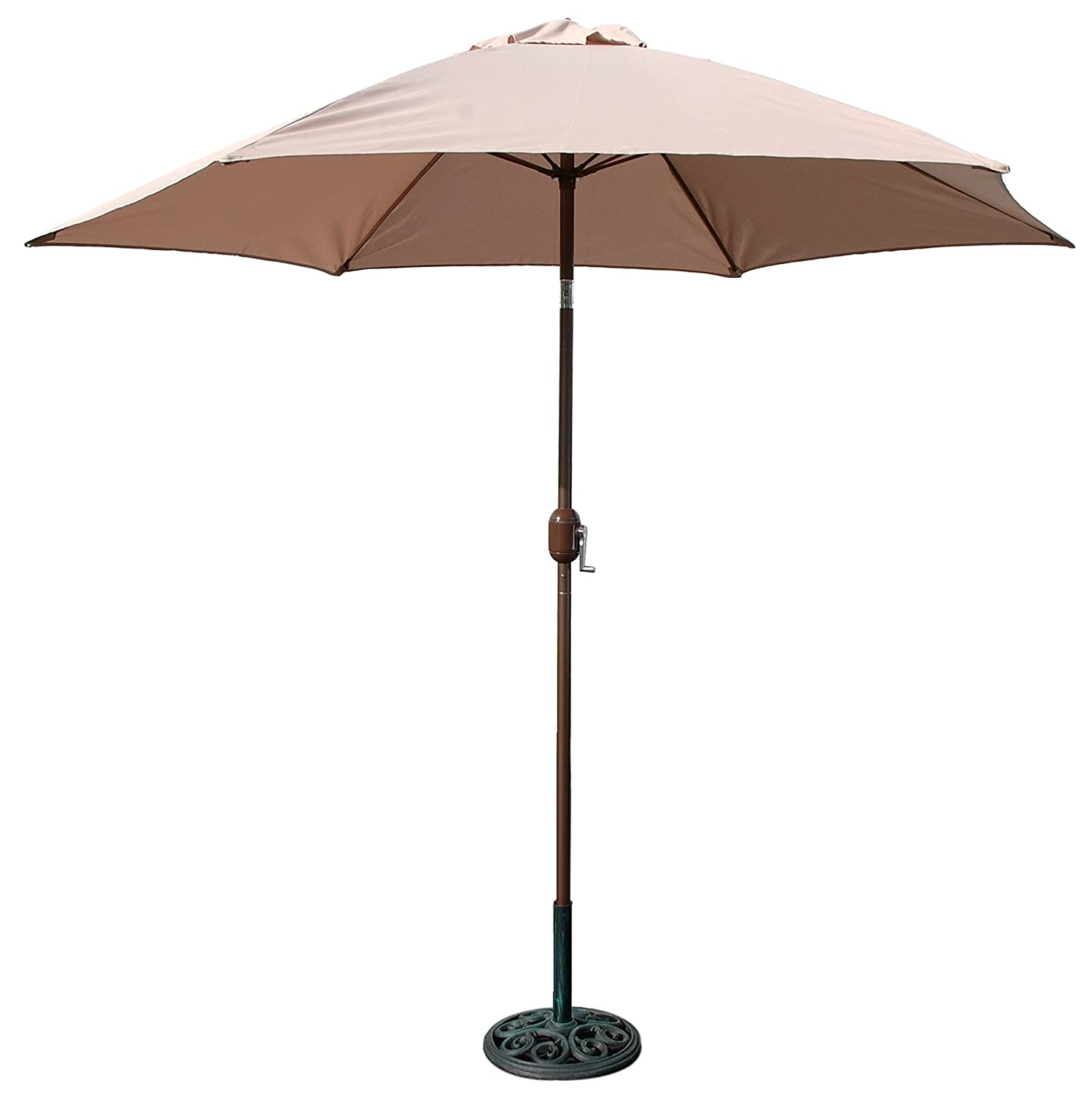 Outdoor Shade Umbrella Patio Market Outdoor Pool Yard Beach Shade Umbrella Canopy